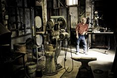 Yvon in the original Patagonia workshop
