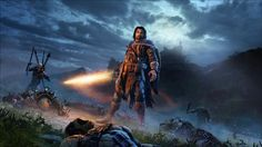Shadow of Mordor from the tale of Talion The Dark Ranger