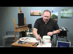 ▶ Paint-Along: How to Paint a Floral in Oils, Part 1 - YouTube