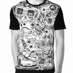"""""""Controllers"""" is our latest Tee, only available at www.geekprint.net"""