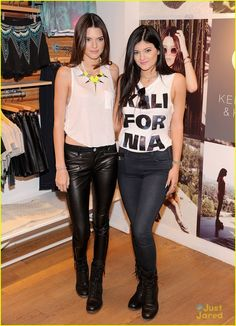 Kendall & Kylie Jenner: PacSun Fall Collection Preview Pop-Up