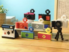 Fuuvi channels Lego with adorable nanoblock camera.