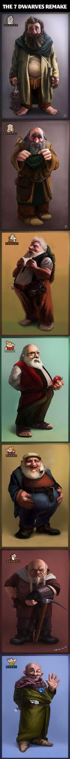 realistic 7 dwarfs