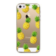 For Apple iPhone 5 5S SE Case New Arrival Hot Soft TPU Flowers Friuts Girls Painted Phone Skin Transparent Clear Back Case Cover
