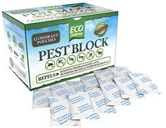 Eco Defense Pest Control Pouches - All Natural - Repels Rodents, Spiders, Roaches, Ants, Moths & Other Pests - 12 Pack - Best Mouse Trap Alternative Best Mouse Trap, Mouse Traps, Mice Control, Bug Control, Getting Rid Of Mice, Flea Spray, Types Of Insects, Best Pest Control, Termite Control