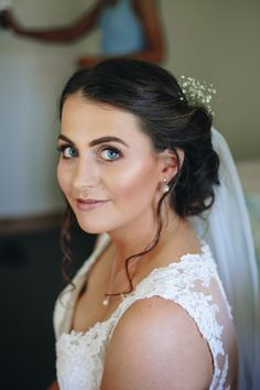 """""""I loved how my gown went from detailed lace at the top to a softer fabric at the bottom. and the back of the dress was beautiful as well. Soft Fabrics, Gowns, Wedding Dresses, Lace, Beautiful, Fashion, Vestidos, Bride Dresses, Moda"""