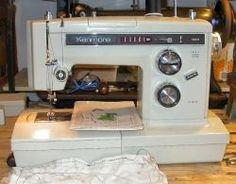 Vintage Sears Kenmore Sewing Machine Amp Hard Case 1 2 Amp