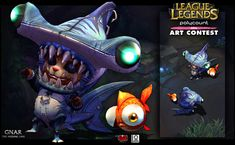 [Riot Art Contest] - Gnar - Page 3 - Polycount Forum