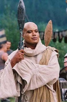 Stargate SG-1  Teal'c in Jaffa robes