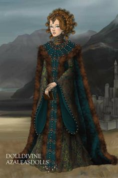 Byzantine influence... ~ by Inanna ~ created using the LotR Hobbit doll maker   DollDivine.com