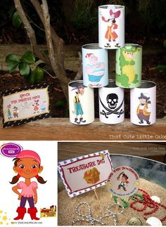 That Cute Little Cake: Chloe's Jake and the Neverland Pirates Birthday Party