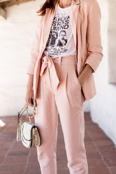 Soft Pink #suit #spr
