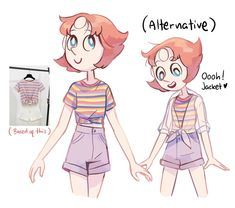 Skyblob: Drawing Pearl with outfits etc before sleep ended up making me sleep really late tho, but I had some fun time drawing her. Ive never drawn some SU stuff for my social media content bc I didnt have the courage, but now I dont care. Pearl Steven Universe, Steven Universe Movie, Universe Art, Pearl Fanart, Arte Do Kawaii, Steven Univese, Before Sleep, Cartoon Shows, Character Design Inspiration