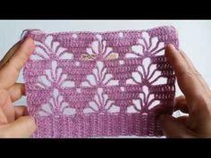 Crochet Motif Patterns, Granny Square Crochet Pattern, Crochet Diagram, Baby Knitting Patterns, Crochet Designs, Stitch Patterns, Crochet Collar, Crochet Lace, Crochet Crafts
