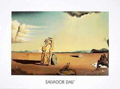 Salvador Dalí - La Femme Nue dans le Desert