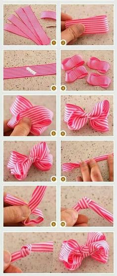 how-to-make-bows-for-hair-clips by stella_fresa how-to-make-bows-for-hair-clips DIY, Do It Yourself,, Baby Wisp Hair Accessories has baby bows, hairbStill not sure I could do it lol DIY ribbon bowsMake it Cozee: Tutorial: How to Make Big Hair Bow Cli Making Hair Bows, Diy Hair Bows, Diy Bow, Bow Making, Diy Hair Clips, Ribbon Crafts, Ribbon Bows, Hair Ribbons, Ribbon Hair