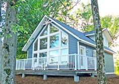 Cedar Homes The Sebright Just awarded the distinction of Finalist in the Canadian National SAM Awards, this Linwood home package or kit is ideal for building on a small lot. It is a wonderful retreat that makes a lasting impression as a cabin, cottage or chalet.