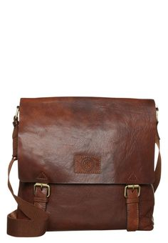 Saddler PIMLICO - Across body bag - midbrown for £135.00 (06/01/16) with free delivery at Zalando