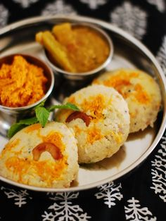 Instant Oats Rava Idli Recipe With Step By Step Pictures