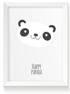 FREE printable nursery panda print | creatura