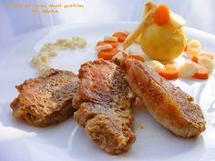 Ce si cum mai gatim: Muschi de porc cu legume rasol French Toast, Cooking Recipes, Breakfast, Pork, Morning Coffee, Chef Recipes, Recipies, Recipes