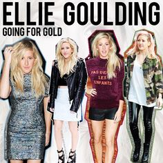 We love Ellie Goulding's style!!