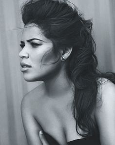 America Ferrera. She is lovely & I'm waiting for her to be in movies and stuff again. Hello? Where's my Ugly Betty movie?