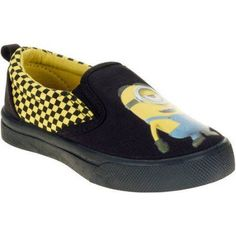 Minions Toddler Boys Casual Shoe, Toddler Boy's, Size: 11, Black