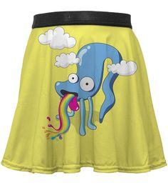 Rainbow Monster circle skirt for kids, Mr. GUGU & Miss GO Kids Line, Skirts For Kids, Our Kids, Dress Skirt, Trunks, Ballet Skirt, Rainbow, Swimwear, Dresses