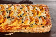 Butternut Squash & Spinach Tart | by pastryaffair