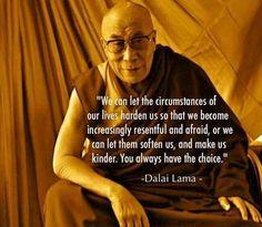 Circumstances can soften us