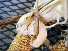 CONFESSIONS OF A PLATE ADDICT DIY Dried Corn Garland