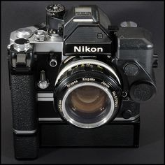 Nikon SB Photomic with MD-2 drive (silicon blue cells in meter) 2'590 gr. Mechanik by Richard de Stoutz