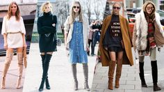 Find out how to wear different over-the-knee boots with this guide for styling flat, high-heeled, lace-up, and coloured varieties of the trend.