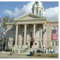 Wilcox County Courthouse, Abbeville, GA. Built in 1903.