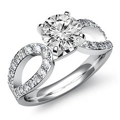 $6,549  -  * GIA CERTIFIED * 2.05 CT ROUND SOLITAIRE RING ON 14K SOLID WHITE GOLD F 26 D http://www.amazon.com/dp/B00M38SXOW/ref=cm_sw_r_pi_dp_uxuBub1W71GCT
