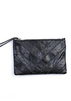 Trblietavá listová kabelka s odnímateľnou retiazkou #Modinosk Seasons, Bags, Fashion, Chains, Handbags, Moda, Fashion Styles, Seasons Of The Year, Fashion Illustrations