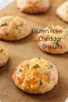 GF garlic cheddar biscuits