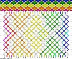 28 strings, 16 colors, 18 rows