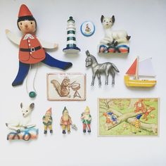 Collection of childhood miniatures