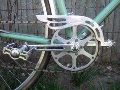 French chain guard,  TA crankset, VO hardware by somervillebikes, via Flickr