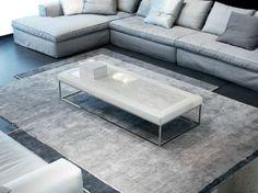 Low rectangular coffee table ADONE by ERBA ITALIA