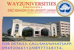 Here we are providing Direct Admissions  for  Top Colleges of Andha Pradesh, Tamilnadu, Karnataka, Maharashtra & Delhi / NCR  for Engineering, Medicine, Technology & Management Courses etc. We are offering the courses in top universities and colleges which helps the students to achieve their educational goals. we are in the front of an endeavour with a specific purpose of directing the students in the correct manner and with them till their 'AIM'.