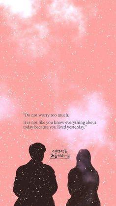 K drama quotes Korea Quotes, Quotes Drama Korea, Korean Drama Quotes, Korean Drama Romance, Korean Drama Funny, Korean Drama Movies, Korean Dramas, Kdrama Wallpaper, K Wallpaper