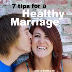 7 Awesome Tips For A Healthy Marriage --- Are looking for ways to make your marriage healthier? Marriage can sometimes be challenging or dull. It is important that husbands and wives take time to invest in their marriage. Take the initiative to be a better wife by being the best version of you%… Read More Here http://unveiledwife.com/7-awesome-tips-for-a-healthy-marriage/ #marriage #love