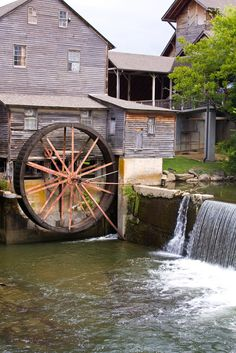 The Old Mill - What a wonderful place to visit and eat in Pigeon Forge, Tennessee