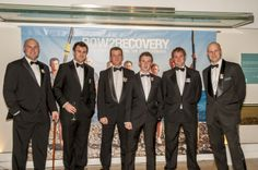 2012 - 1st Row 2 Recovery crew at the River & Rowing Museum for the Row 2 Recovery Fundraising dinner.