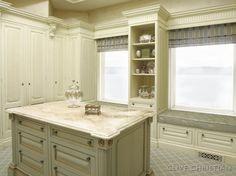 Clive Christian Dressing Room (closet) - traditional - closet - atlanta - by Hungeling Design, LLC