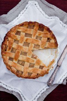Waniliowa szarlotka Muffins, Summer Cakes, Little Kitchen, Cake Cookies, Apple Pie, A Food, Recipies, Sweets, Baking