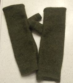 A personal favorite from my Etsy shop https://www.etsy.com/listing/255497377/a01-military-green-cashmere-fingerless